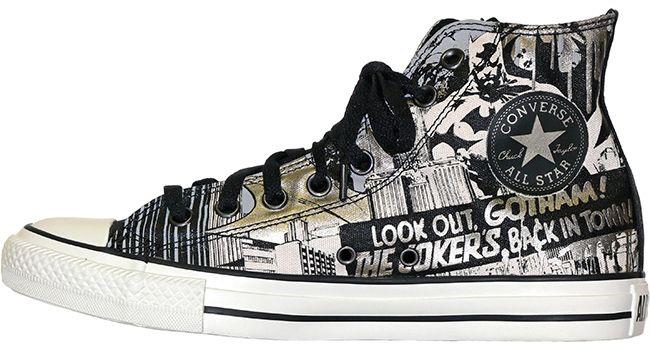 Converse Chuck Taylor Hi DC Batman Kids Sneaker