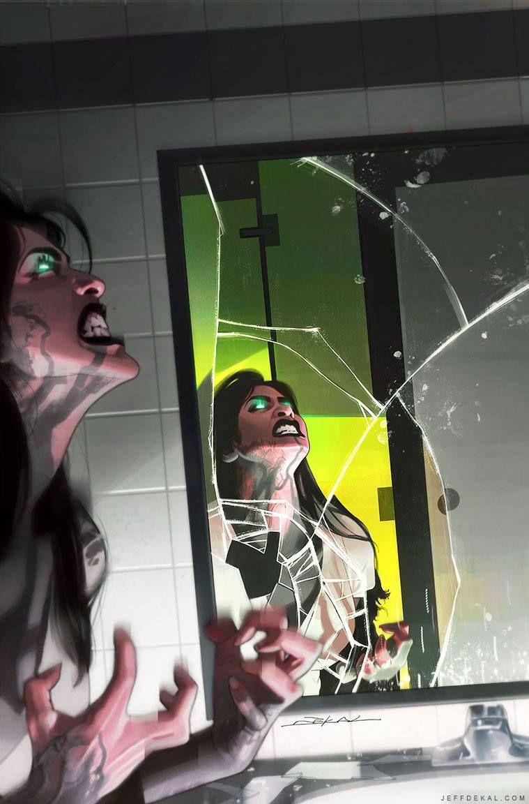 She-Hulk #2 by Jeff Dekal *