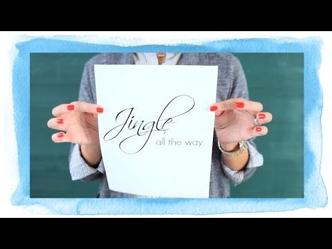 Holiday Crafting With the Heidi Swapp Minc - YouTube