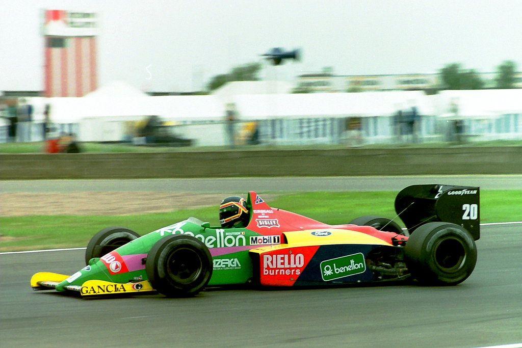 1987 Thierry Marc Boutsen (BEL) (Benetton Formula Ltd.), Benetton B187 - Ford TEC 1.5 V6 (t/c - 4.0 bar limited)