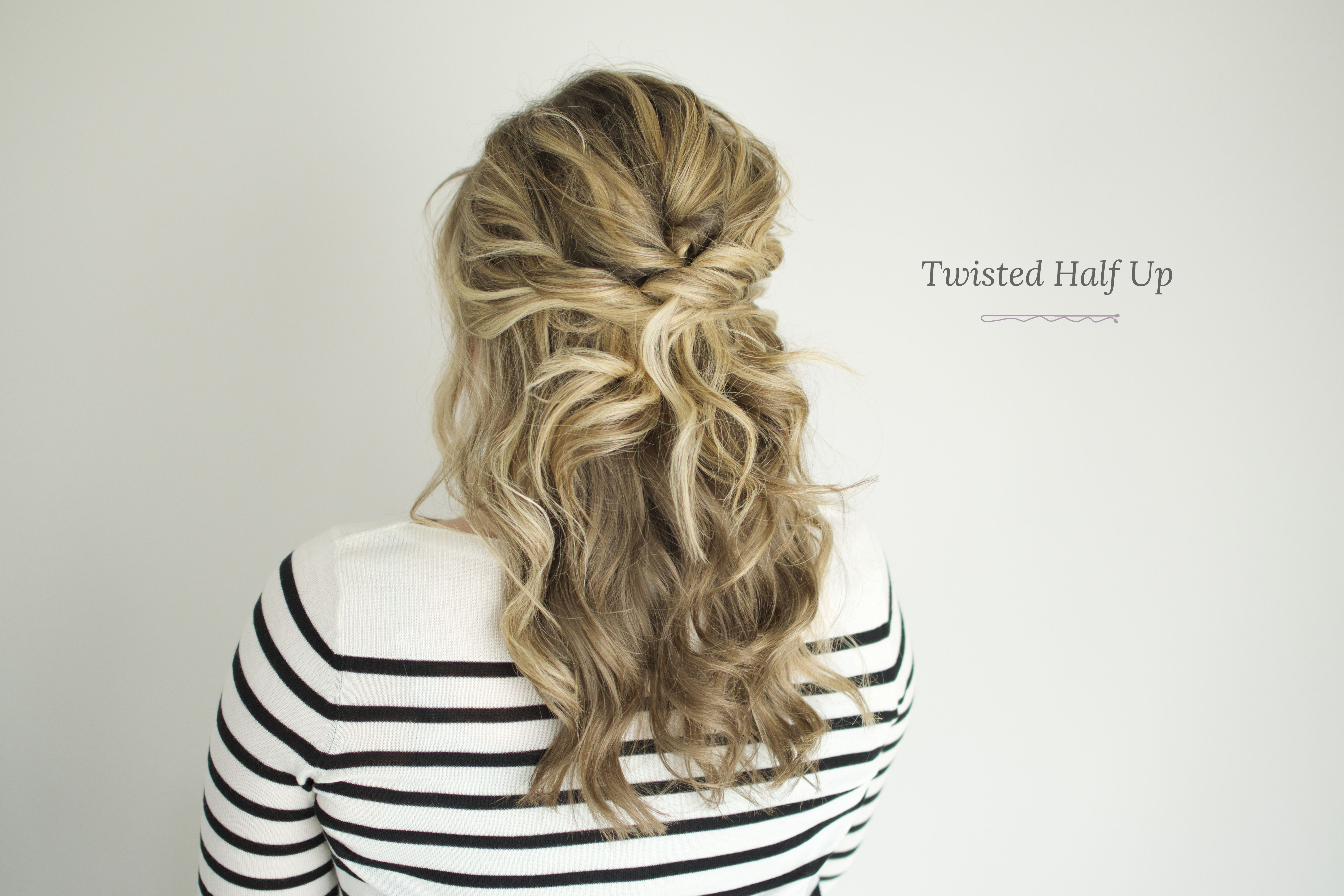 In case you missed the tutorial for creating these bouncy curls ium