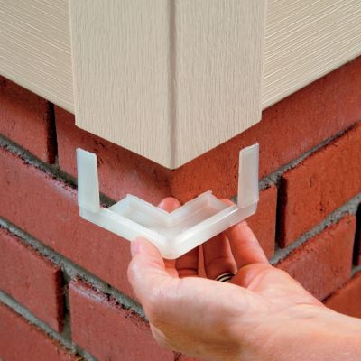 Kritter Cap Pest Control Siding Corner Inserts From Improvementscatalog Com Help Prevent Infestation By Rodents Bees And Wa Pest Control Bees And Wasps Pests