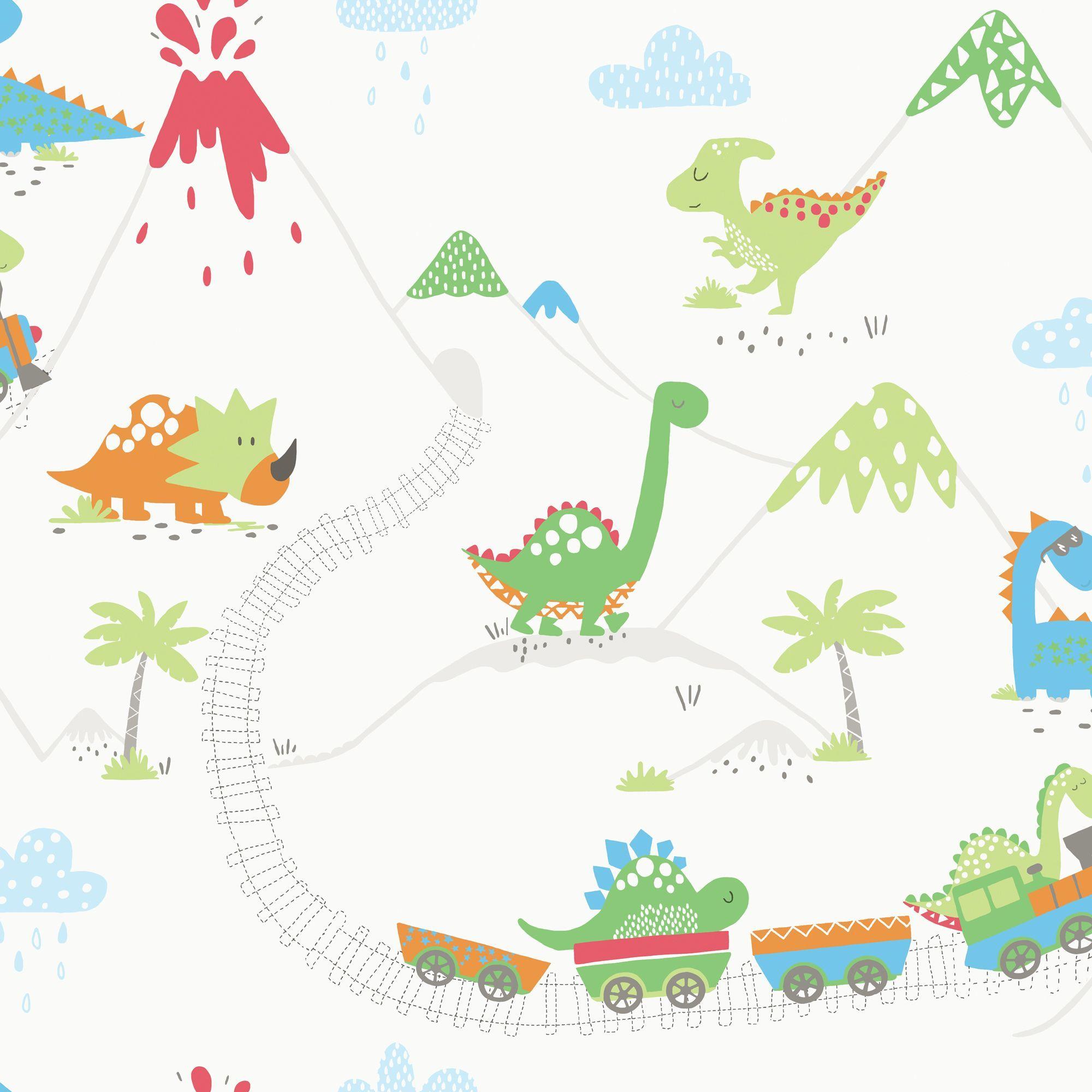 Holden Decor Dinosaur Matt Finish Wallpaper B Q For All Your Home And Garden Supplies And Advice On All The L Dinosaur Wallpaper Kids Wallpaper Dinosaur Room Childrens bedroom wallpaper b&q
