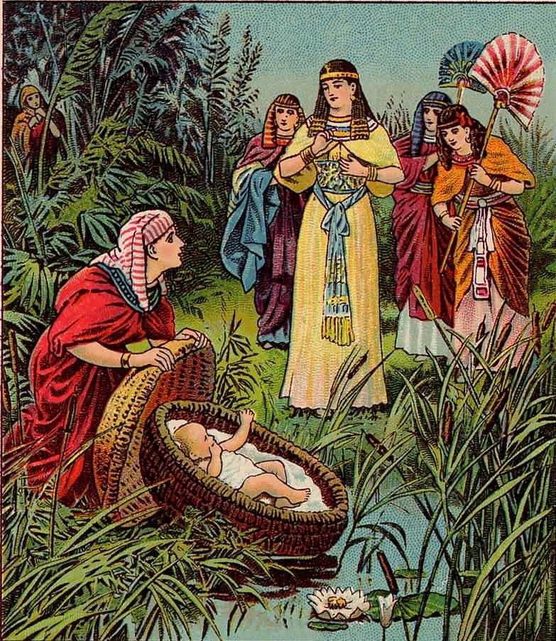 Jochebed, A Faithful Mother Exodus 2110 Sacred art