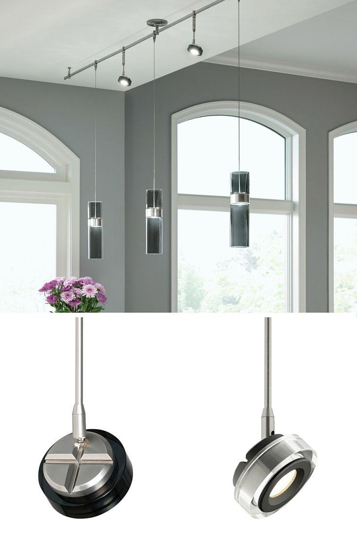 The Ultra Slim Brim Spot Head Light From Tech Lighting Features Field Changeable Optics And An Optio Contemporary Track Lighting Tech Lighting Kitchen Lighting