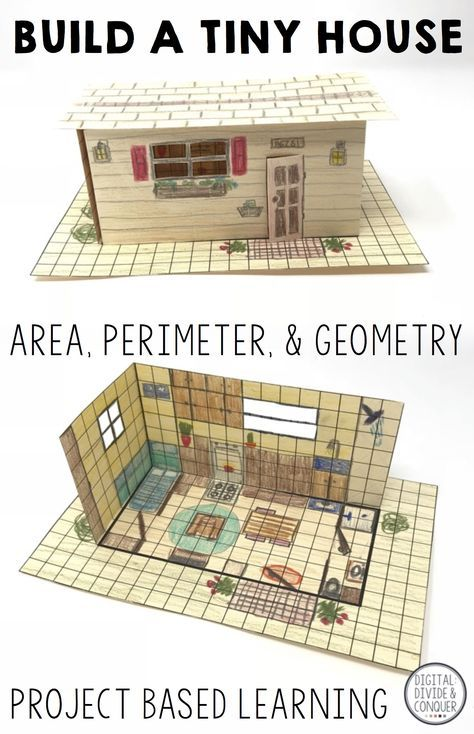 Build A Tiny House! Project Based Learning Activity, A PBL | Project on house food project, house physics project, house design project, house art project, house science project,