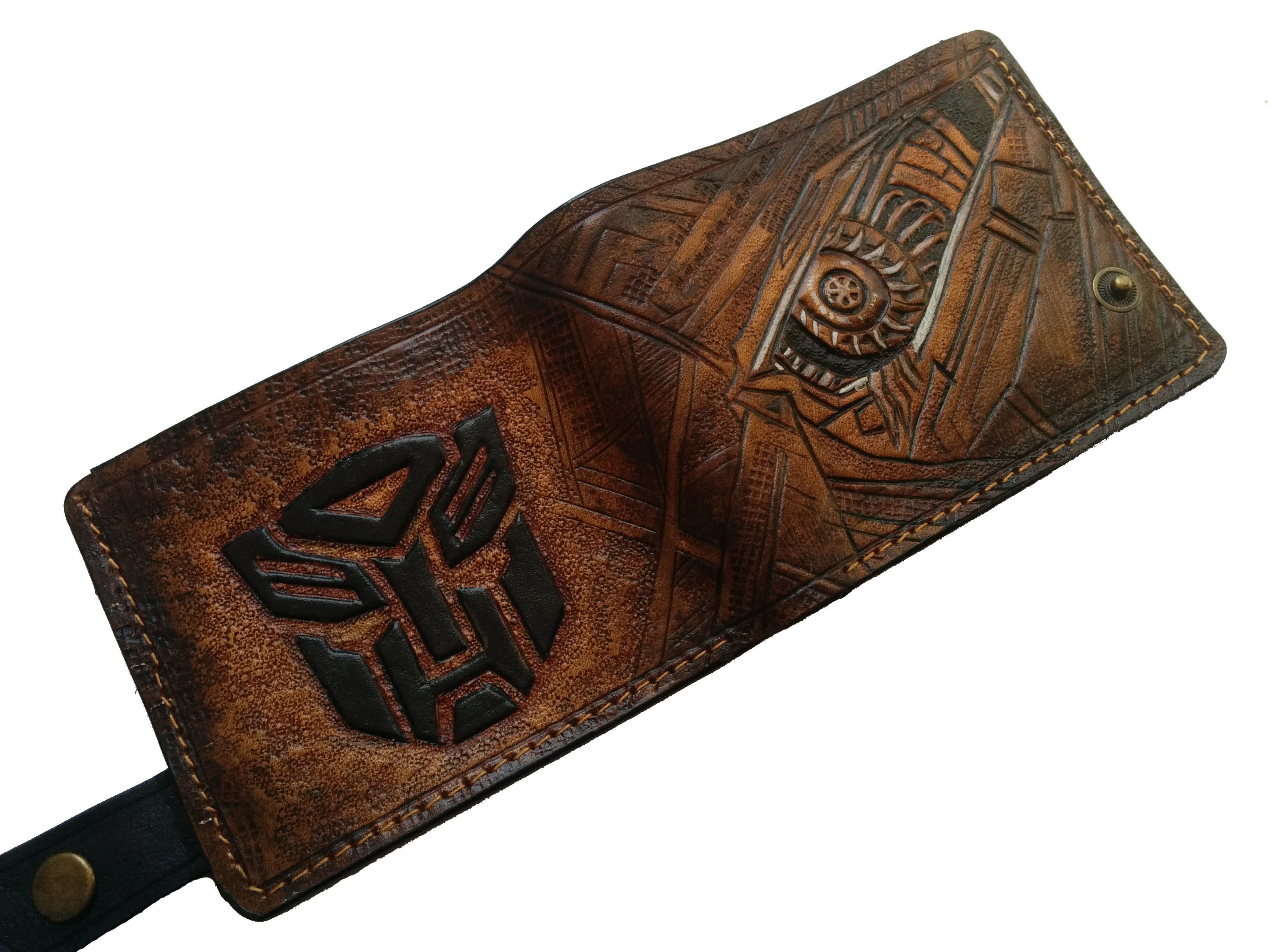 Twisted Fate Men/'s 3D Genuine Leather Wallet League of Legends Hand-Carved