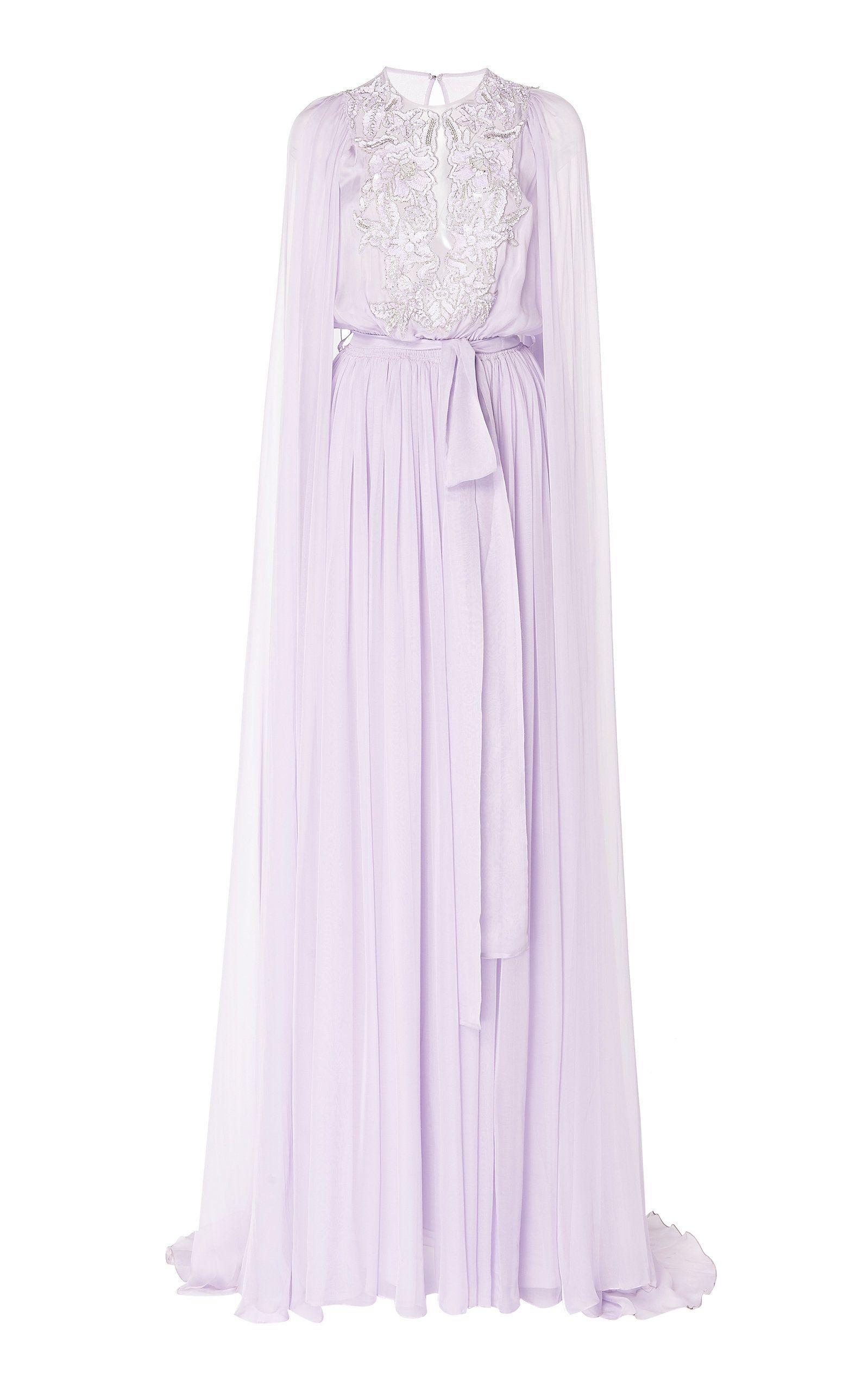 Silk chiffon cape dress costumes fashion pinterest dresses