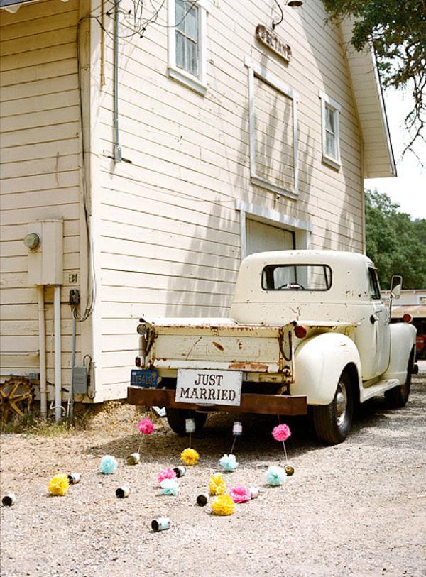 18 Fun Just Married Wedding Car Ideas