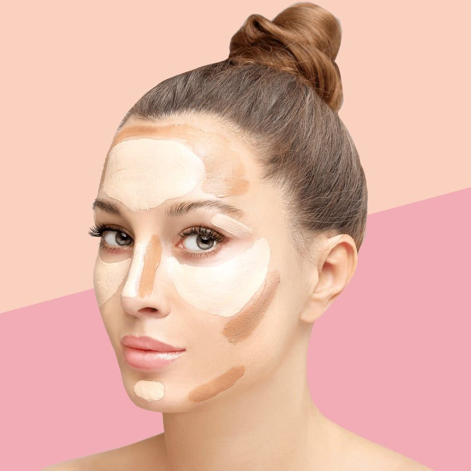 Pro makeup artist Ashley Rebecca shows us how to contour for each face shape!