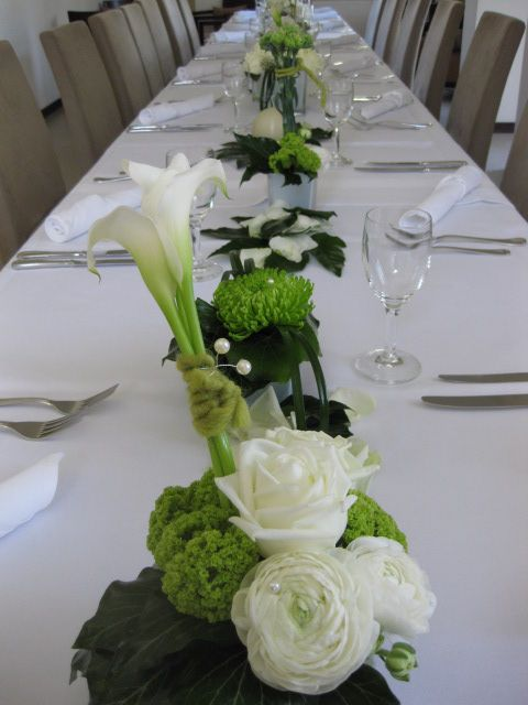 Festliche Dekoration Konfirmation Bryllup