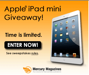 Enter to Win an iPad Mini and Get Free Magazines! Ipad