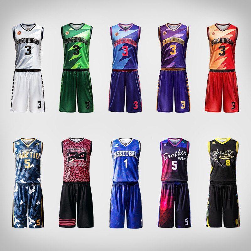 Professional Design Basketball Uniforms Quick Dry