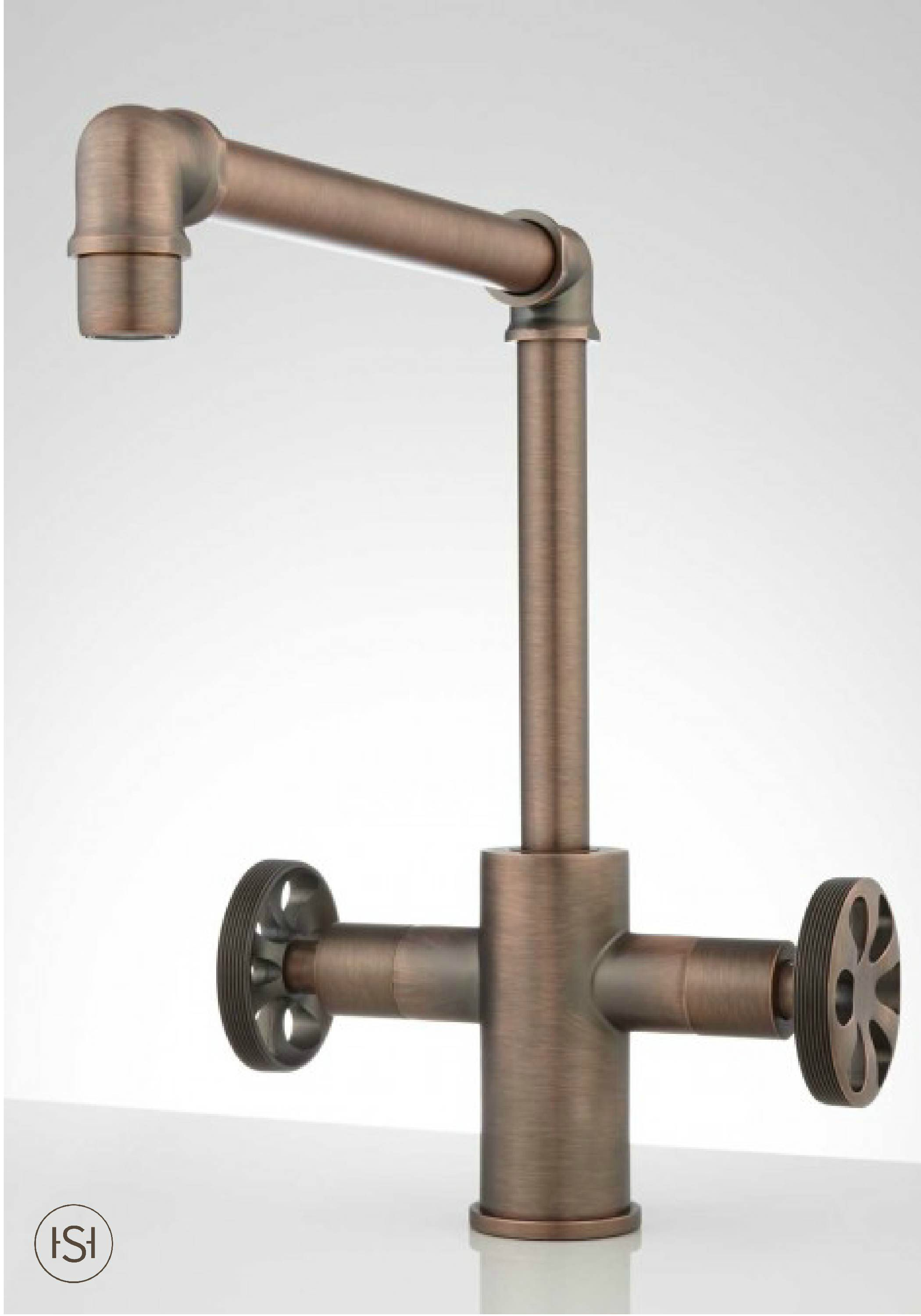 Update Your Urban Style Kitchen With This Distinct Steampunk Faucet The Design Is Inspired By Industrial Ste