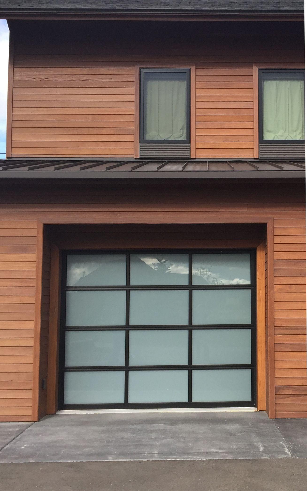 Glass garage door design with batu wood siding provided by nova glass garage door design with batu wood siding provided by nova usa wood mahogany siding rubansaba