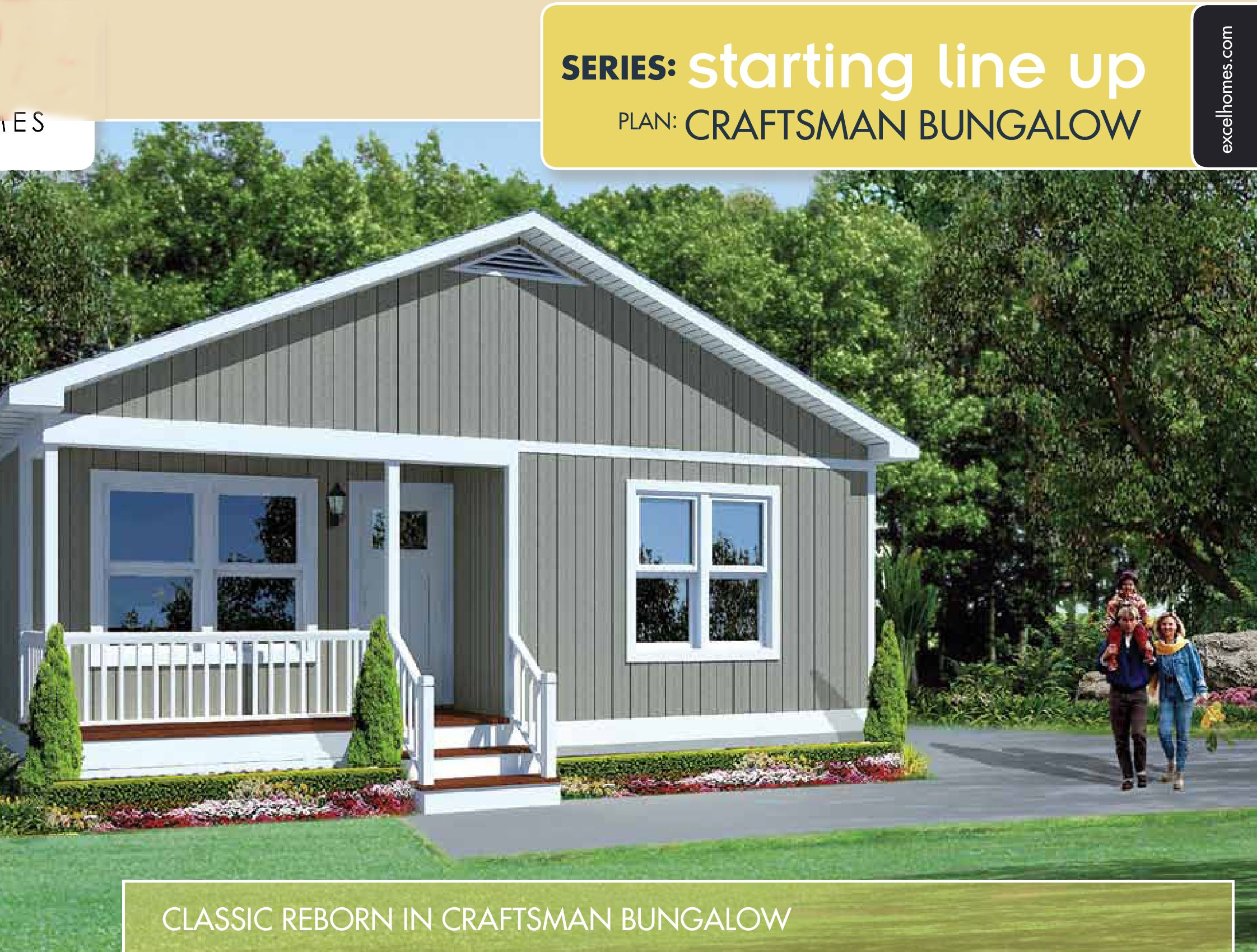 Craftsman Bungalow Mountain Brook Homes Small Modular Homes Modular Home Plans Prefab Modular Homes