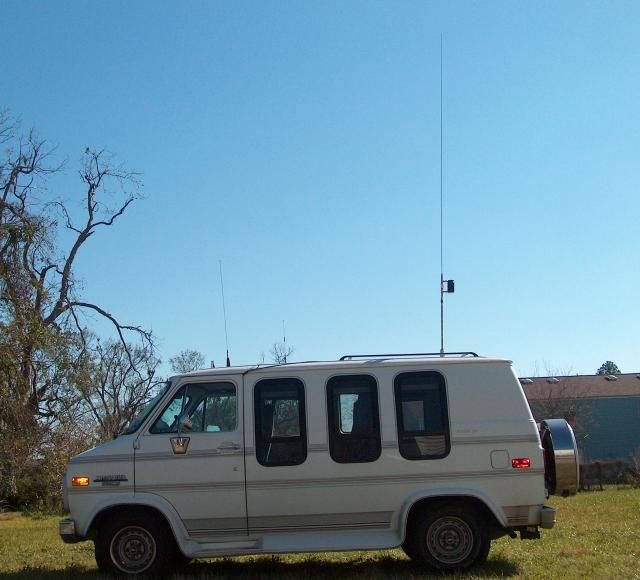 A High Efficiency Extended Length Mobile Antenna Ham Radio
