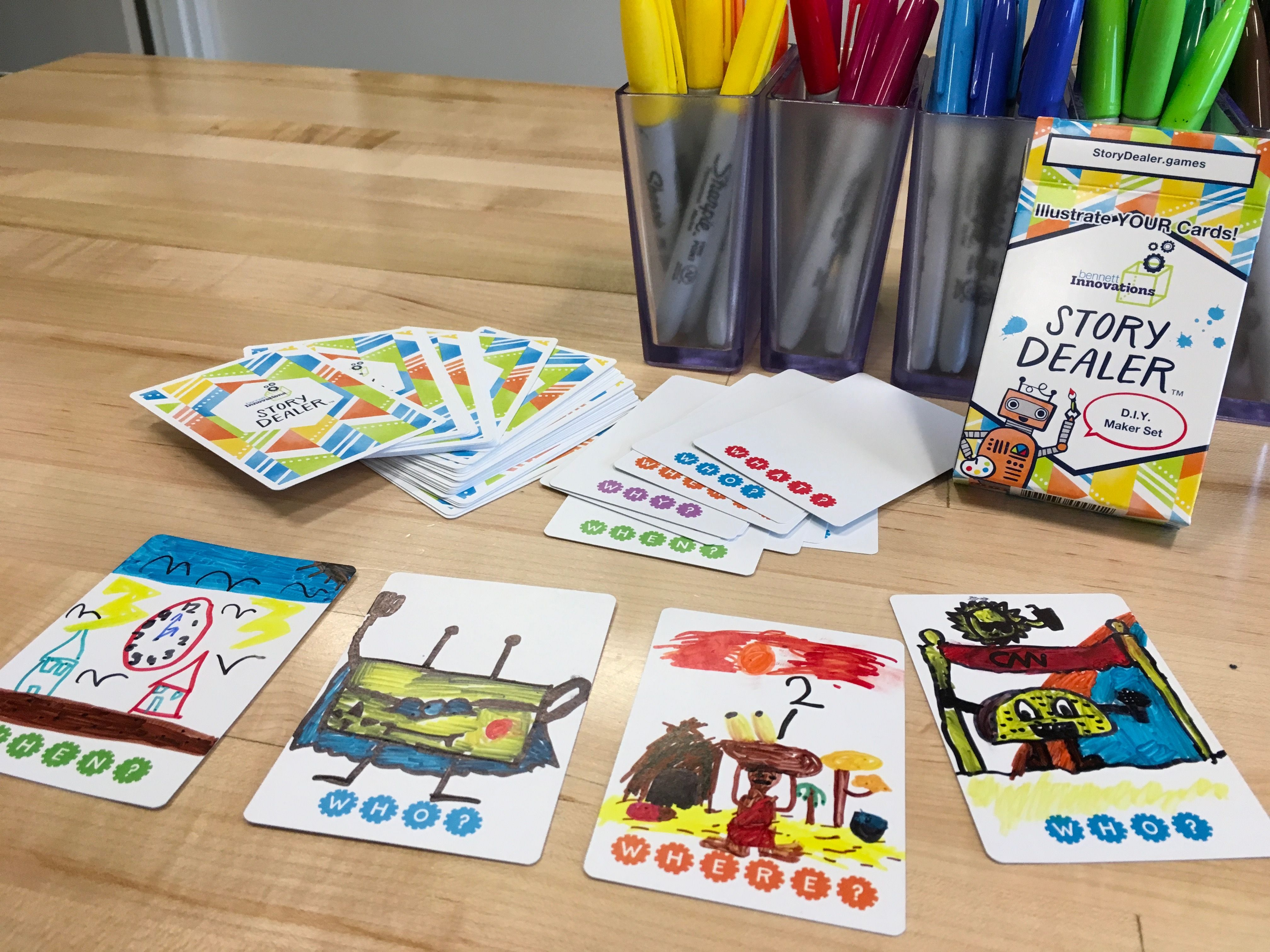 Diy maker set is a do it yourself storytelling card game also diy maker set is a do it yourself storytelling card game solutioingenieria Images