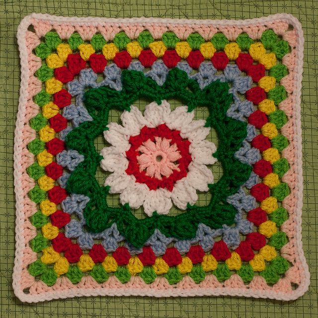 Sunflower Throw Square by MossyOwls, via Flickr