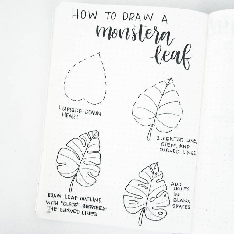 50 Amazing Doodle How Tos For Your Bullet Journal