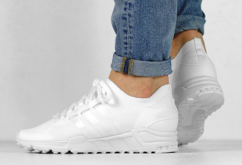316ca5b42 adidas EQT Running Support Primeknit Triple White - Sneaker Bar Detroit