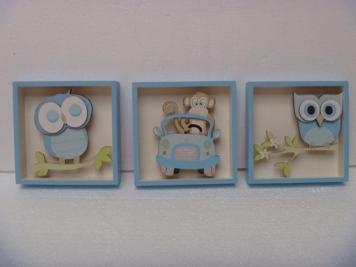 Cuadros para el cuarto de tus ni os bebe decoracion for Decoracion para bebe varon
