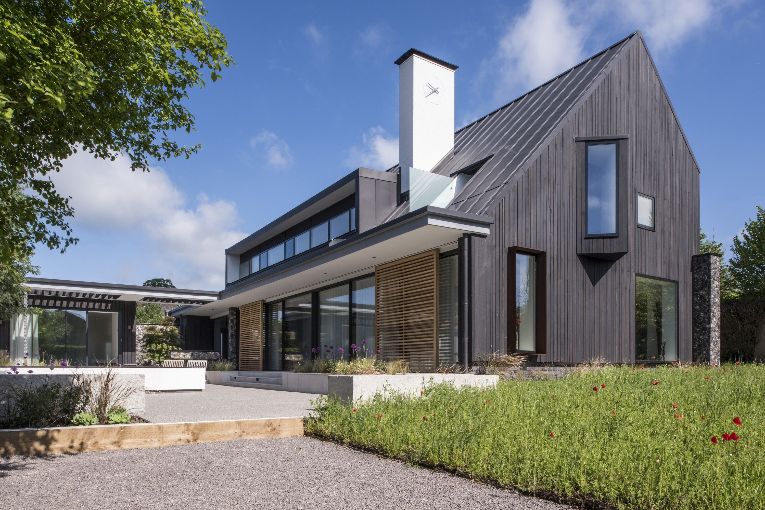 House is an exemplar of sustainable contemporary design in the