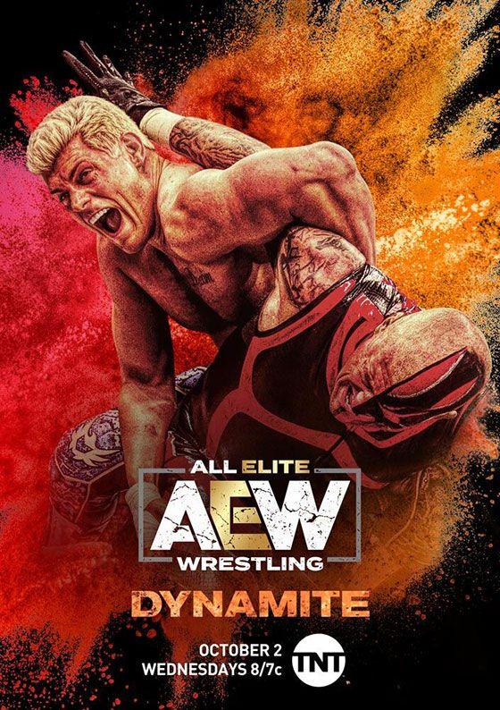 AEW announce details & artwork for their TNT show