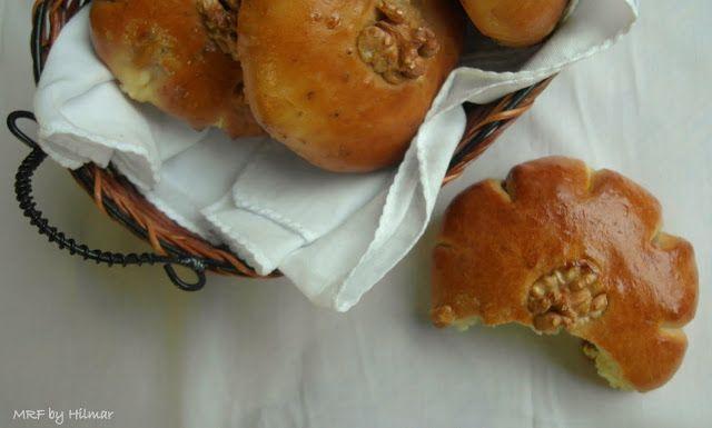 Mis recetas favoritas: Panecillos de nueces y queso