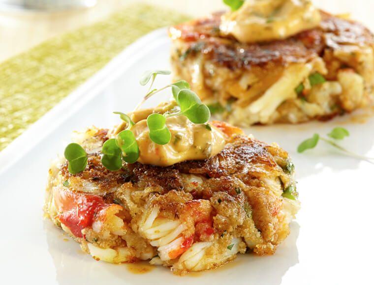 Crab cakes with southwest aioli recipe crab cakes