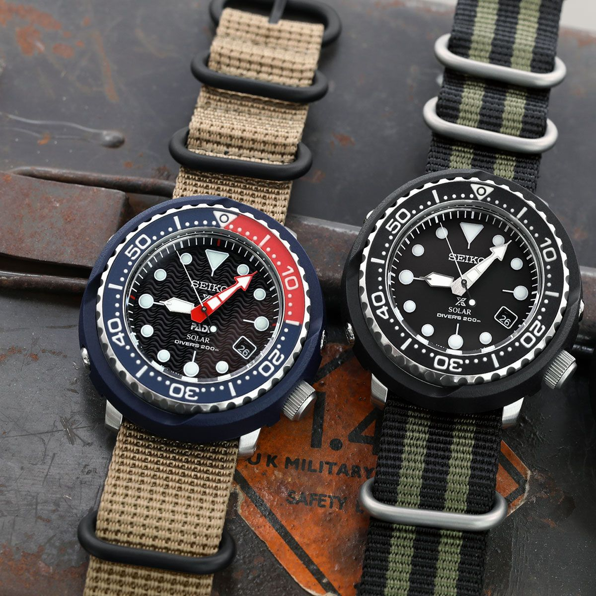 Go For An Adventure The New Seiko Solar Tuna Gives You Power