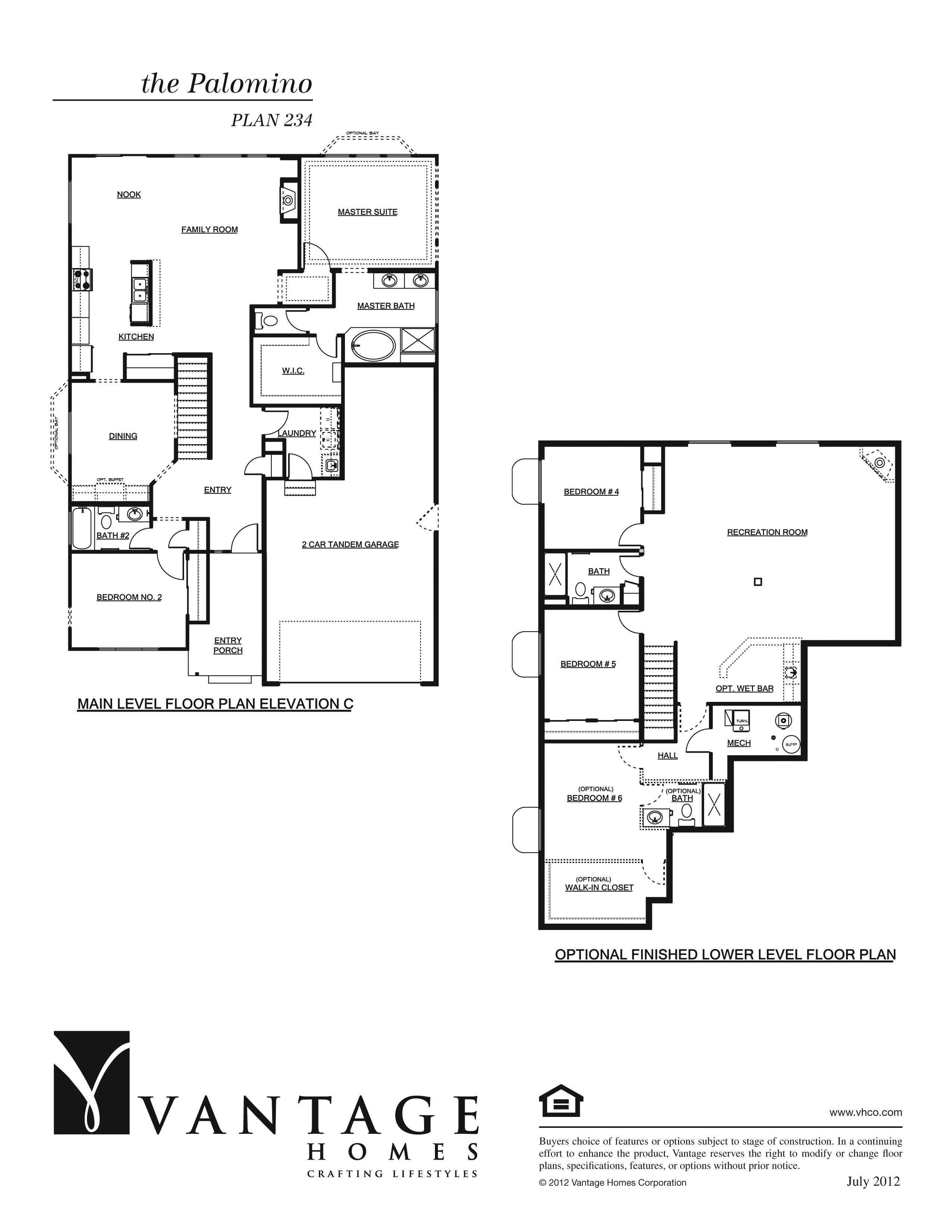 Palomino Floorplan Layout Floor Plans Space Planning House Elevation