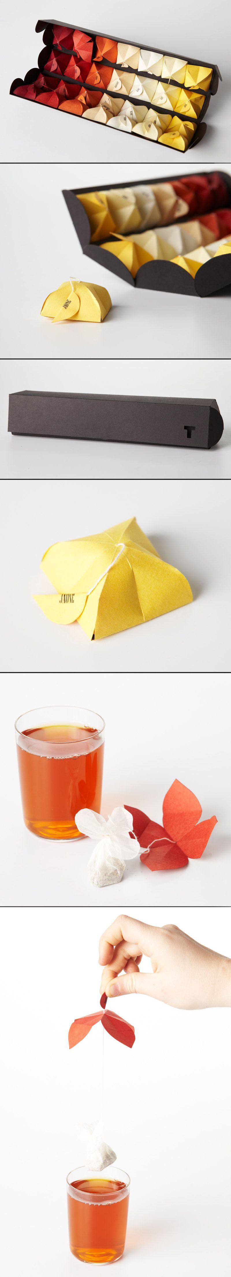 Maria Milagros Rodriguez Bouroncle - tea packaging