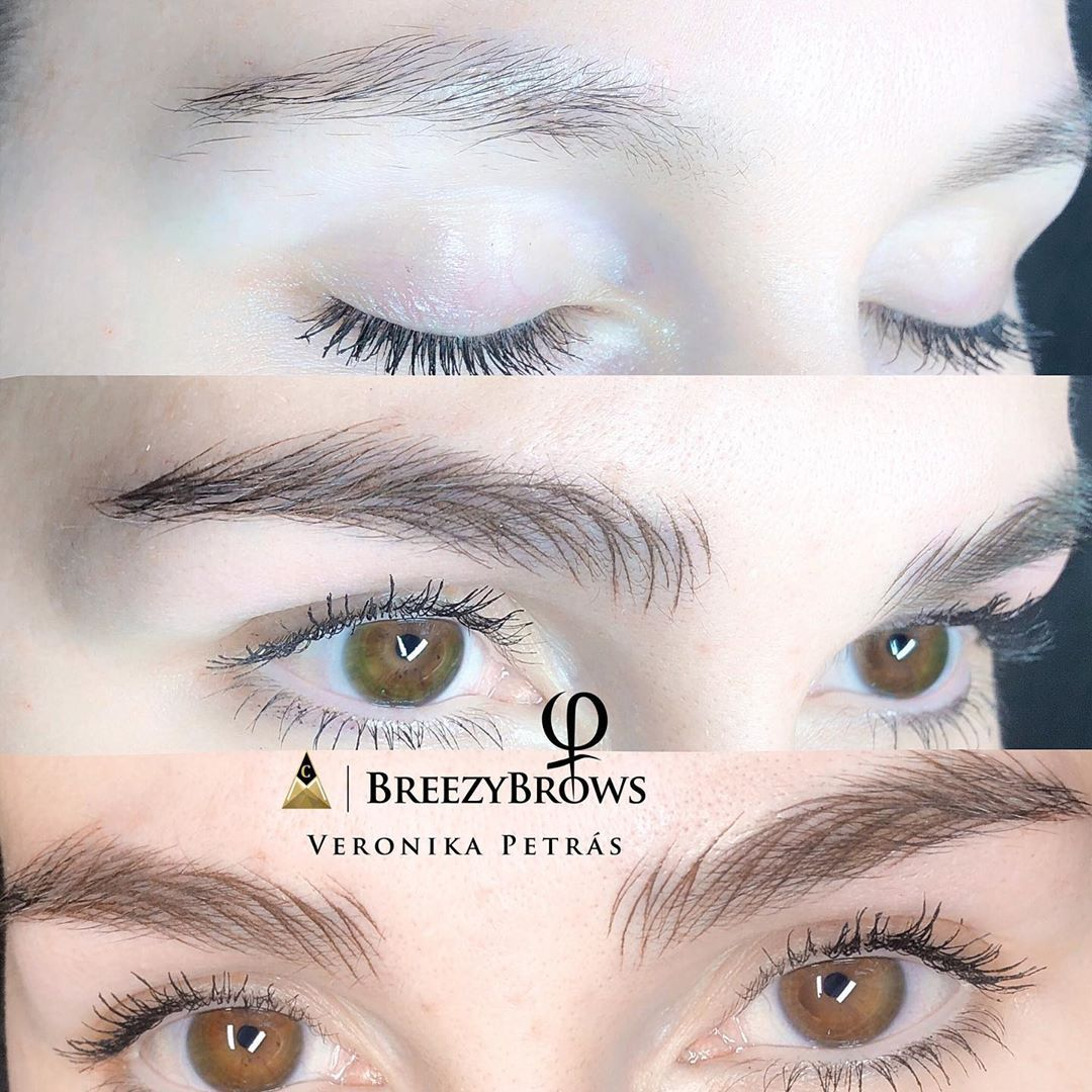 "Veronika Petrás BreezyMaster🍃 on Instagram ""breezybrows"