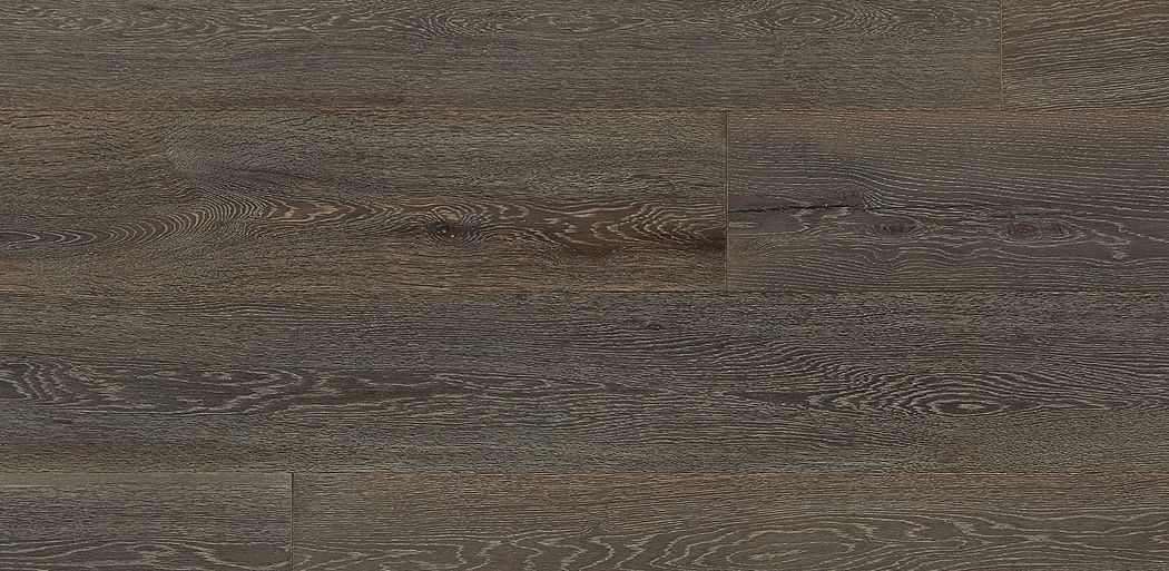 Charlie A Wide Plank White Oak Floor With A Deep Charcoal Stain The Perfect Complement For The Industrial Oak Floor Stains Stylish Flooring White Oak Floors