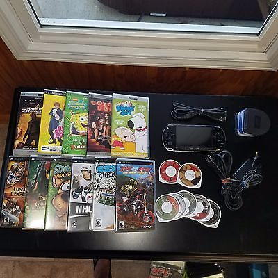 PSP 1001 - 18 Games/Movies - Cords - No Scratches - Perfect Condition https://t.co/giVCEGvVmM https://t.co/9HgWRy2dsz