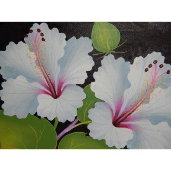 Lukisan Objek Motif Bunga Panajang 40 Cm Lebar 30 Cm Bahan Kanfas Cocok Digunakan Sebagai Penghias Dinding Anda Dan Juga Bi Lukisan Bunga Perhiasan