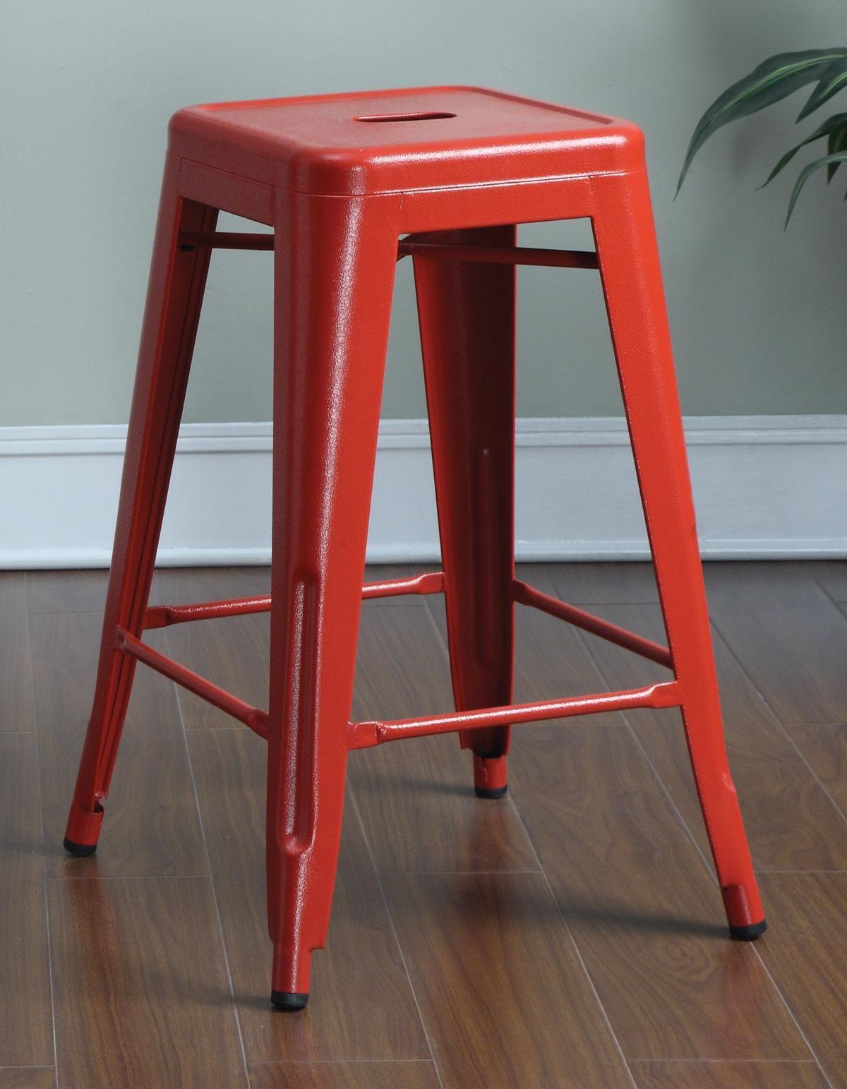 Red Stool Bar Stools Red Bar Stools Metal Counter Stools