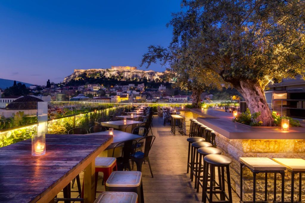 Top 8 Rooftop Bars And Restaurants In Athens Best Rooftop Bars