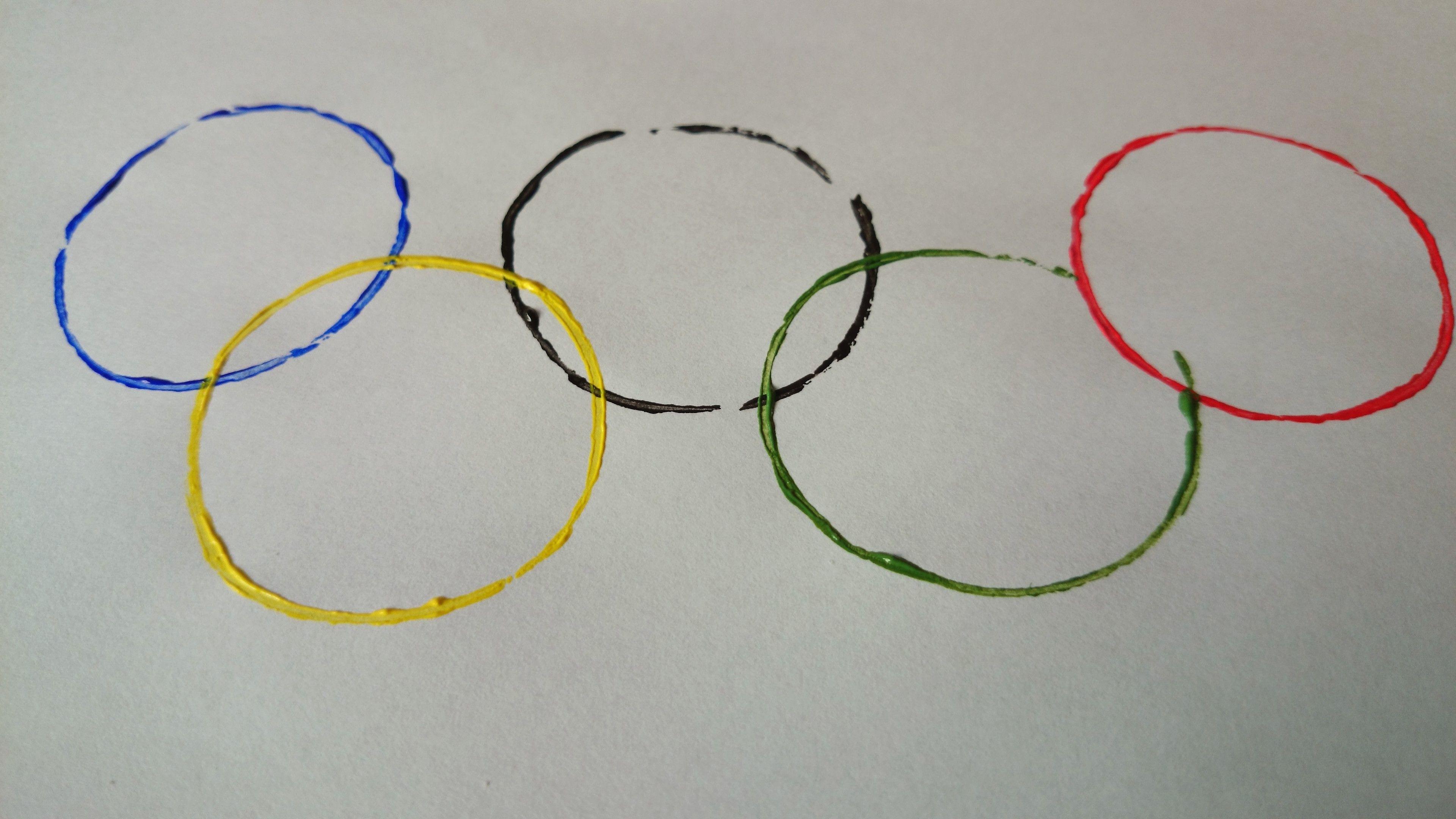Diy Knutselen Olympische Spelen Olympic Games De Ringen Wc Rolletjes Paint Verf Olympische Spelen Winterspelen Olympische Winterspelen