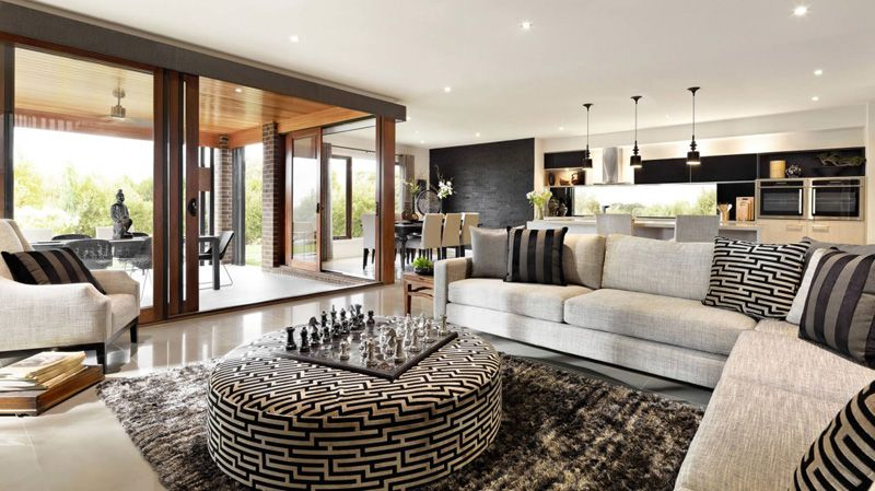 Home Interior Design Melbourne: Spectacular Family Home: Sorrento By Carlisle Homes