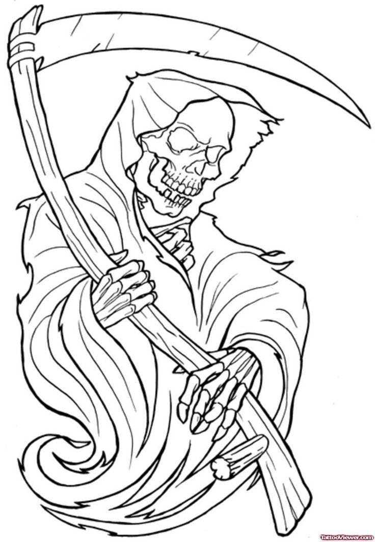 tattoo nightmares grim reaper tattoo joker tattoos tattoo ...