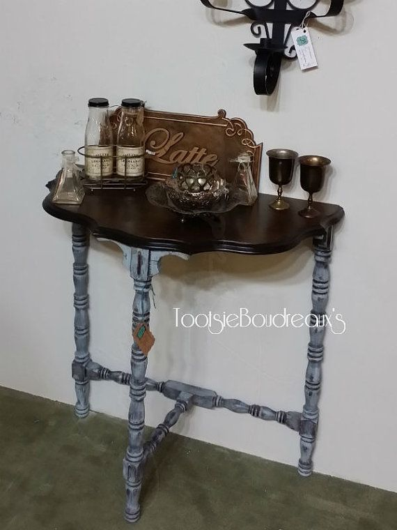 Hand Painted Antique Table $165