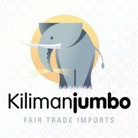 Kilimanjumbo Logo With Images Elephant Logo Logos