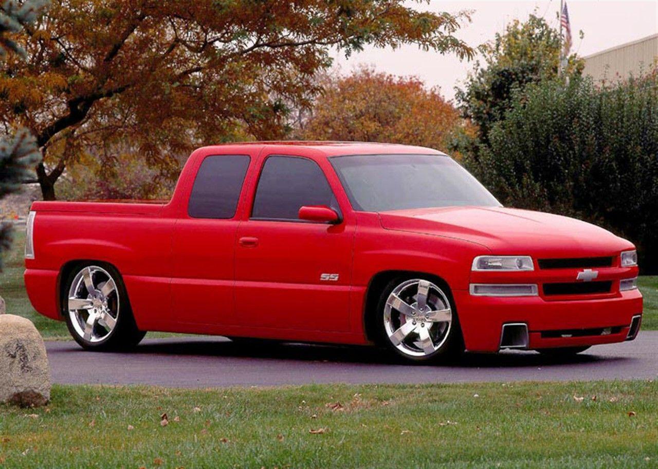 Chevy Ss Truck Concept Chevrolet Silverado 01 500x356 2000