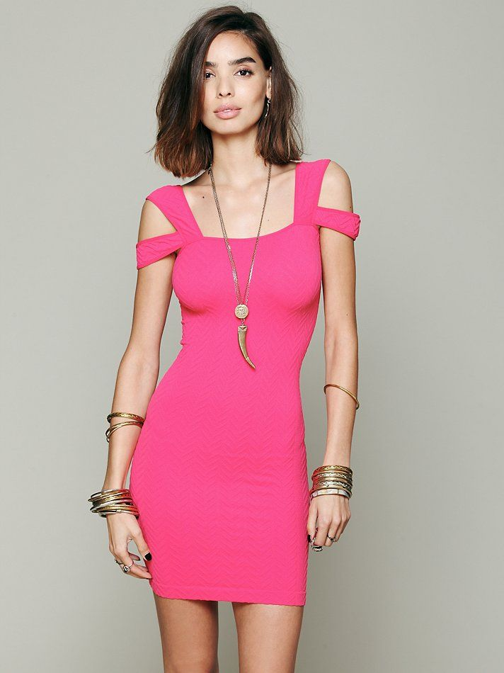 Intimately Off the Shoulder Bodycon at Free People Clothing Boutique ...