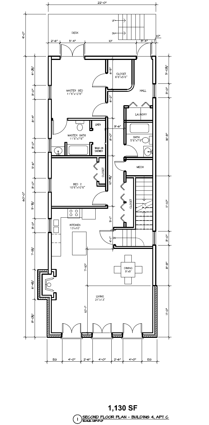 1100 Sq Ft Apartment Floor Plan Google Search Floor Plans