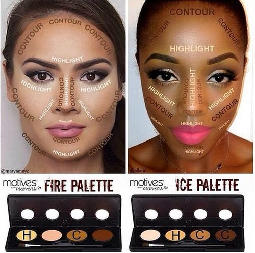 The Ultimate Cheat Sheet to Contouring Your Face | Square faces ...