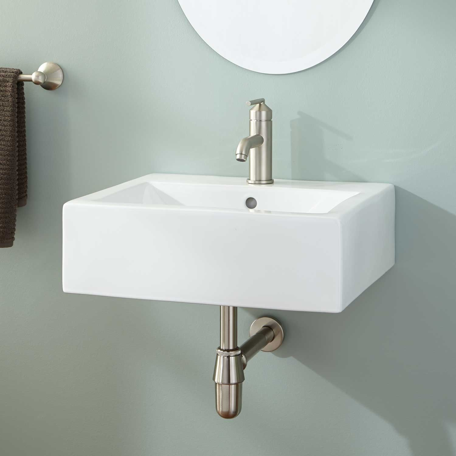 Bwood Wall Mount Sink 20 X 18
