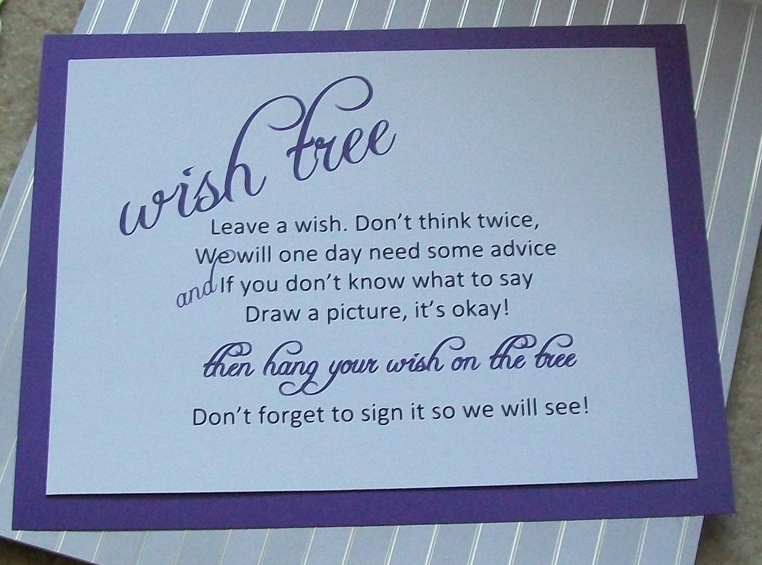 Baby shower wishing tree wording 1000 images about wish blessing tree